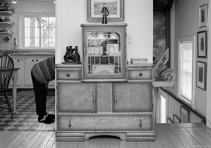 Cụ bà 91 tuổi vẫn cùng con thực hiện dự án nghệ thuật
