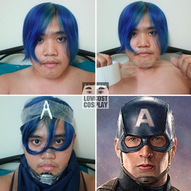 Hay Captain America