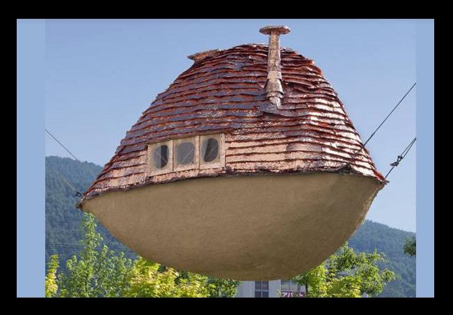 10 ngôi nhà kỳ lạ nhất thế giới - ảnh 1