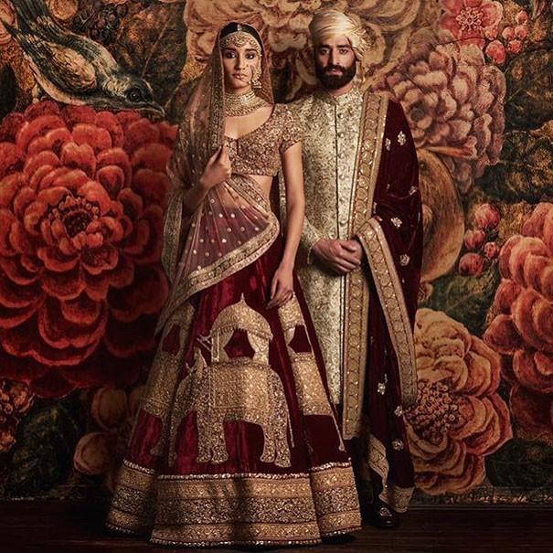 Những trang phục cưới truyền thống kỳ lạ trên thế giới - ảnh 15