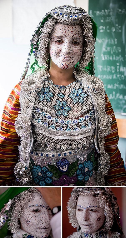 Những trang phục cưới truyền thống kỳ lạ trên thế giới - ảnh 14