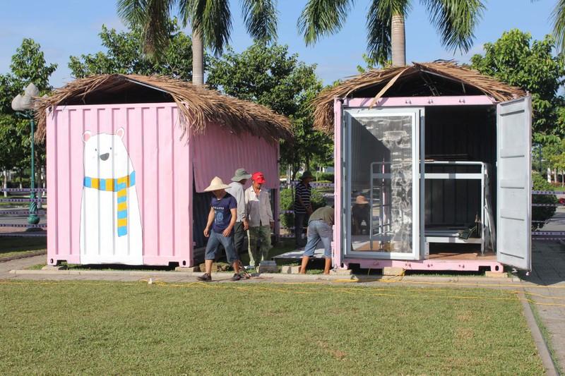 Độc đáo nhà bán trú cho học sinh bằng container - ảnh 2