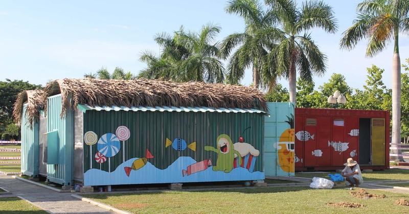 Độc đáo nhà bán trú cho học sinh bằng container - ảnh 3