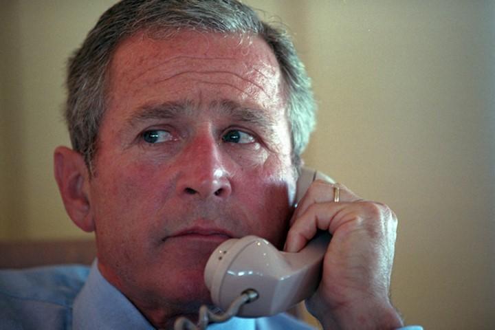 Bên trong chuyên cơ Tổng thống Mỹ Bush ngay sau vụ 11-9 - ảnh 3
