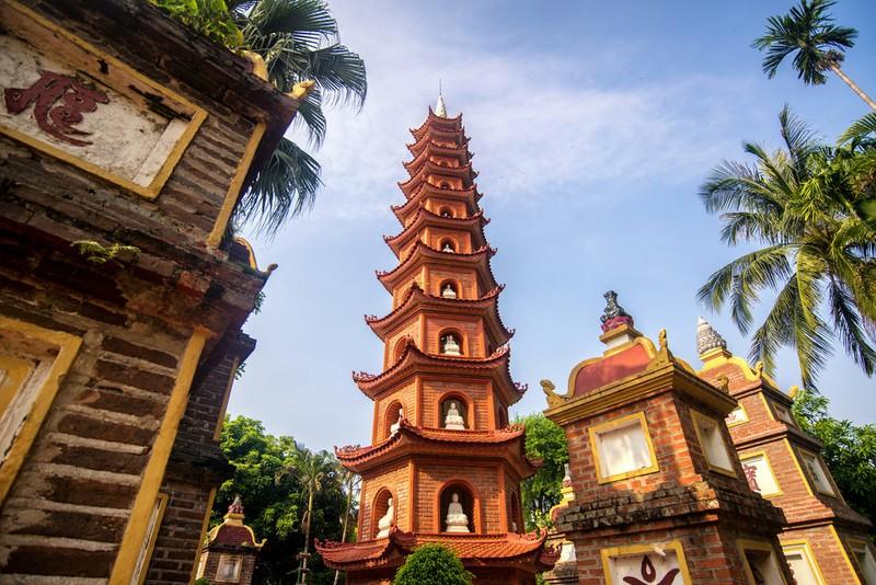Chùa Trấn Quốc lọt top ngôi chùa đẹp nhất thế giới - ảnh 1