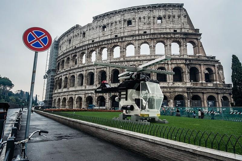 Khi mô hình LEGO tấn công thành phố - ảnh 5