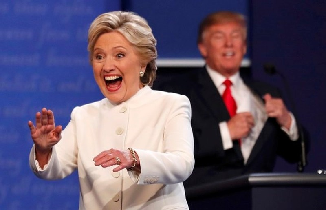 Sắc thái của Hillary và Trump xuyên suốt bầu cử Mỹ - ảnh 10
