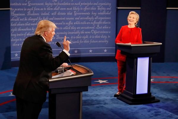 Sắc thái của Hillary và Trump xuyên suốt bầu cử Mỹ - ảnh 5