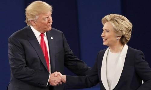 Sắc thái của Hillary và Trump xuyên suốt bầu cử Mỹ - ảnh 8