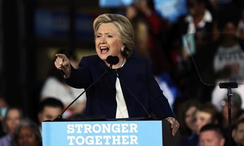 Sắc thái của Hillary và Trump xuyên suốt bầu cử Mỹ - ảnh 1