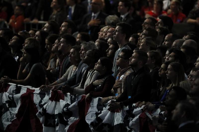 Không khí bầu cử Mỹ qua ảnh - ảnh 7