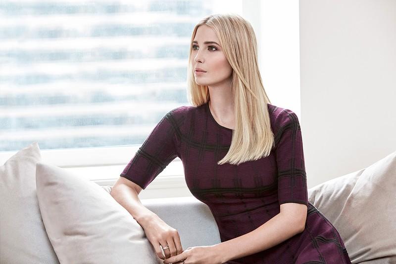 Chiêm ngưỡng nhan sắc kiều diễm của ái nữ Donal Trump - ảnh 2