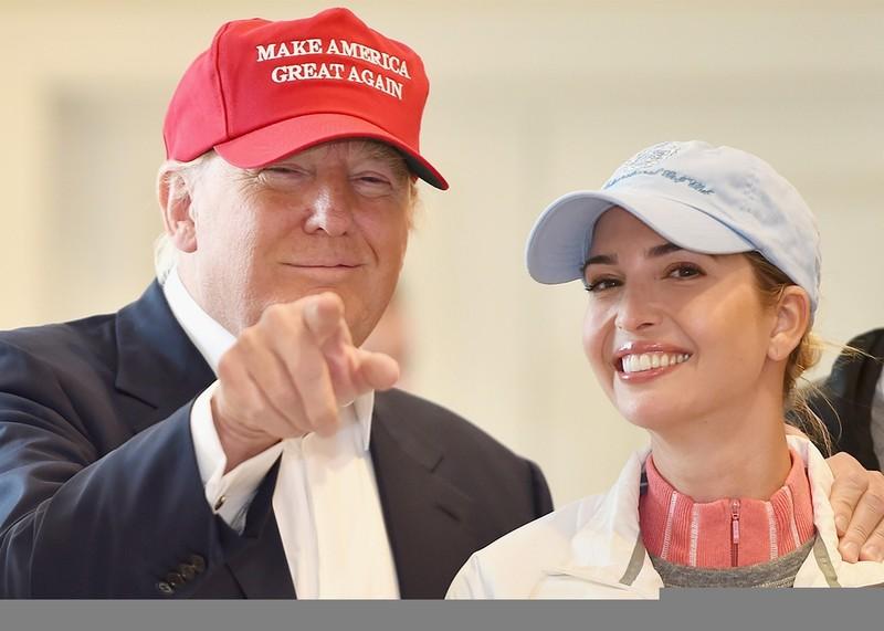Chiêm ngưỡng nhan sắc kiều diễm của ái nữ Donal Trump - ảnh 4