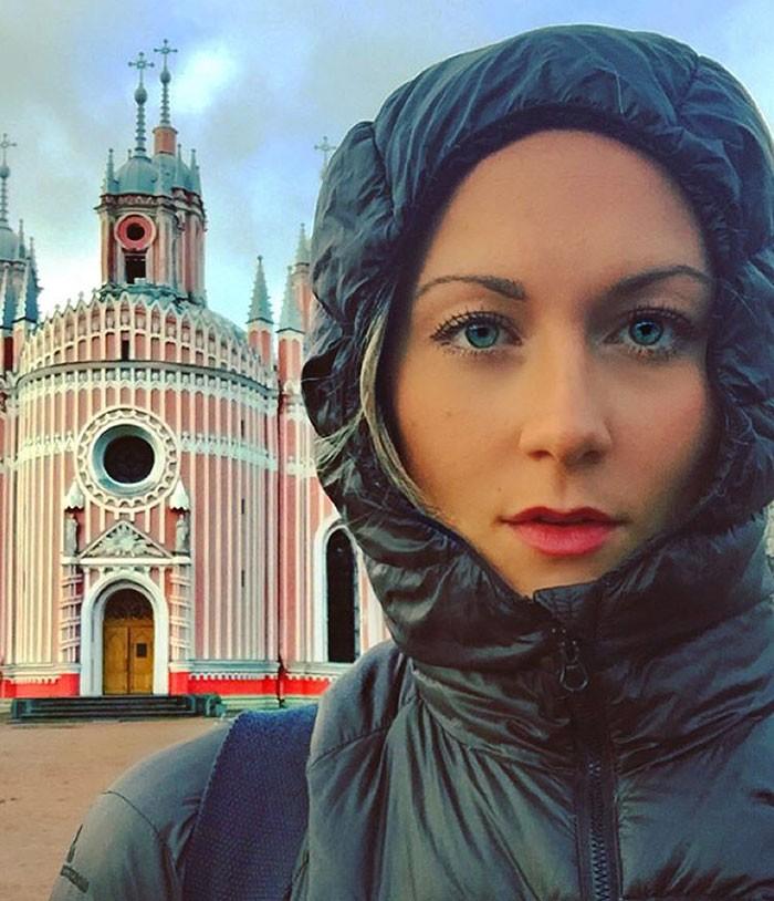 Cô gái du lịch quanh thế giới trong thời gian ngắn nhất - ảnh 1