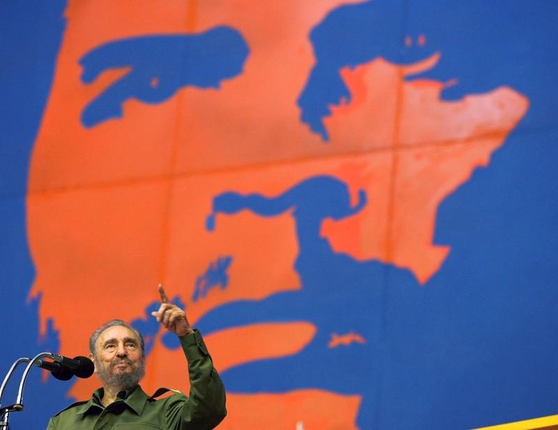 Chùm ảnh về cuộc đời và sự nghiệp lãnh tụ Fidel Castro  - ảnh 20
