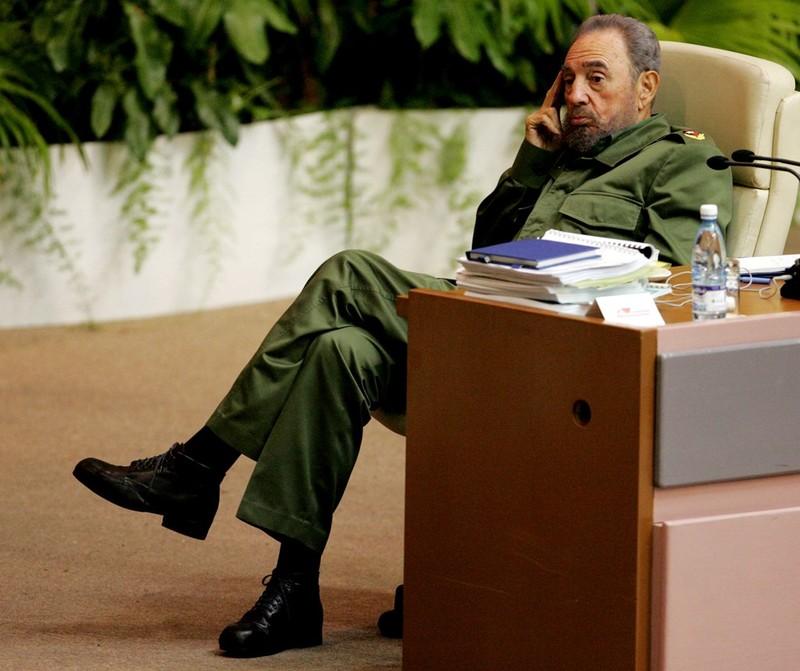 Chùm ảnh về cuộc đời và sự nghiệp lãnh tụ Fidel Castro  - ảnh 17
