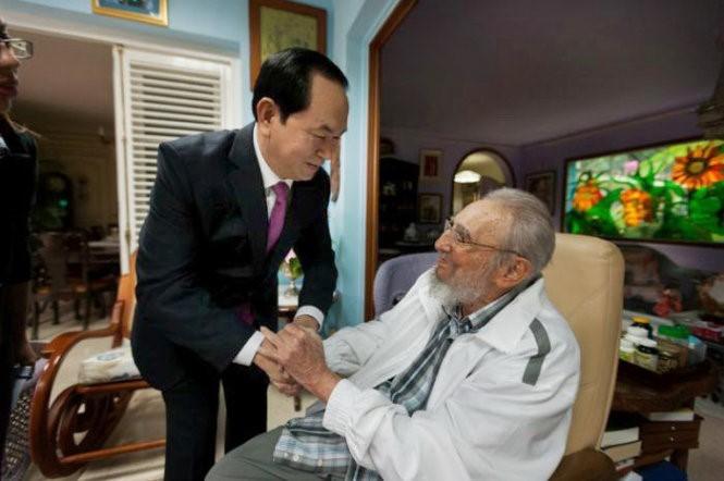 Chùm ảnh về cuộc đời và sự nghiệp lãnh tụ Fidel Castro  - ảnh 19
