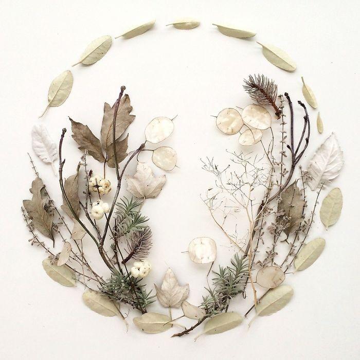 Người phụ nữ biến những cánh hoa thành tranh nghệ thuật - ảnh 9