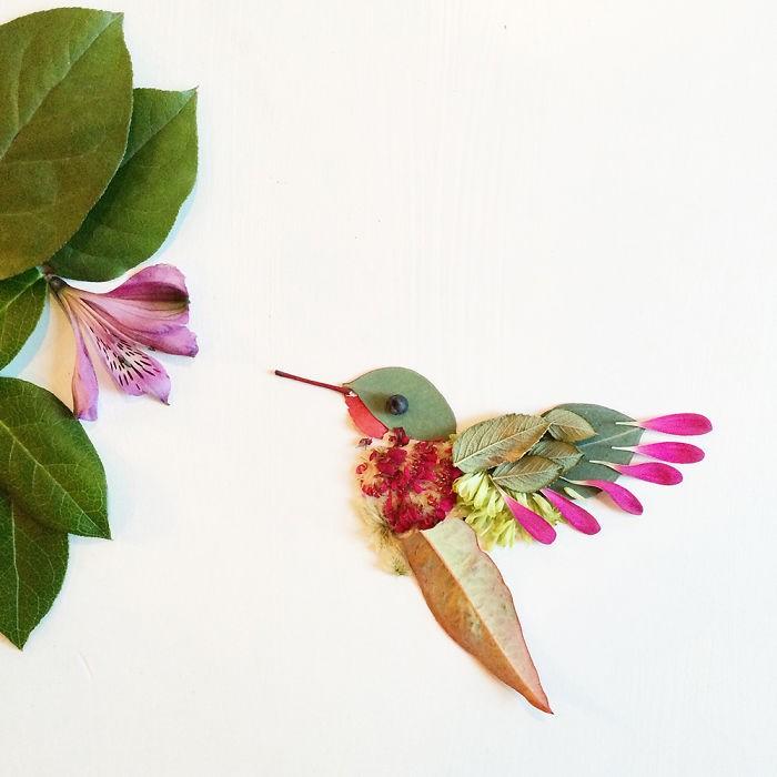 Người phụ nữ biến những cánh hoa thành tranh nghệ thuật - ảnh 17