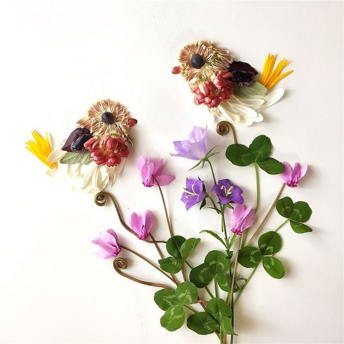Người phụ nữ biến những cánh hoa thành tranh nghệ thuật - ảnh 18