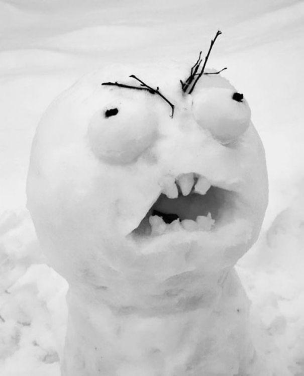Những người tuyết kinh dị nhất thế giới - ảnh 2