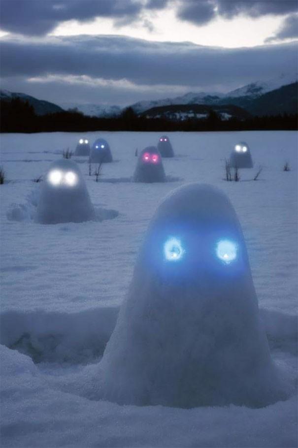 Những người tuyết kinh dị nhất thế giới - ảnh 11