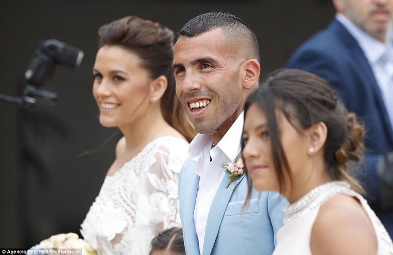 Đám cưới linh đình của ngôi sao Carlos Tevez - ảnh 2