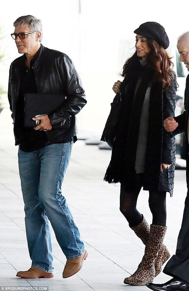 Vợ George Clooney mang song thai ở tuổi 39  - ảnh 3
