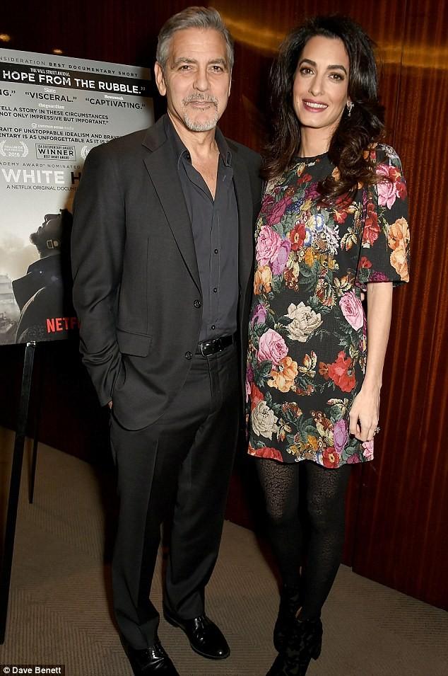 Vợ George Clooney mang song thai ở tuổi 39  - ảnh 2