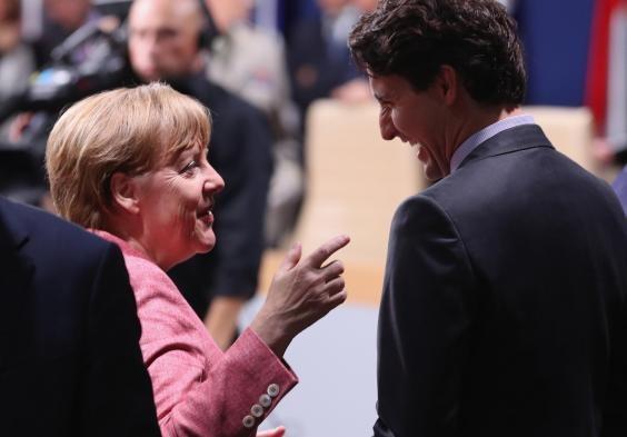 Nụ cười ấm áp và vẻ lịch lãm của Thủ tướng Canada  - ảnh 7