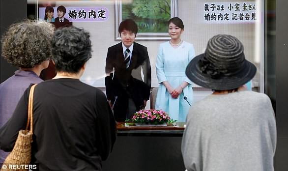 Công chúa Nhật Bản chính thức công bố việc đính hôn - ảnh 1