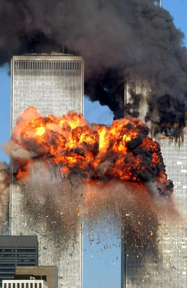Ảnh hiếm vụ khủng bố kinh hoàng 11-9 - ảnh 1