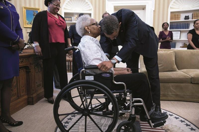Ra mắt sách ảnh về cựu Tổng thống Obama - ảnh 8