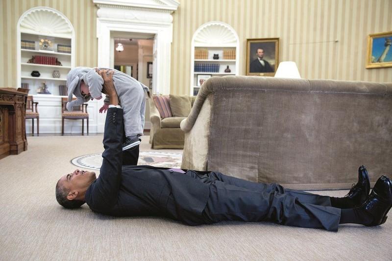 Ra mắt sách ảnh về cựu Tổng thống Obama - ảnh 10