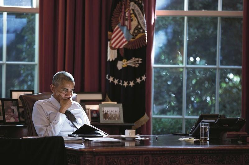 Ra mắt sách ảnh về cựu Tổng thống Obama - ảnh 12
