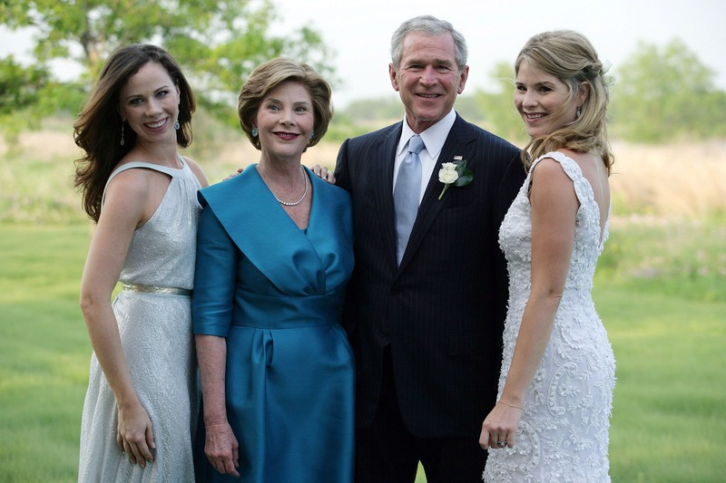 Con gái ông Bush từng mong cha tranh cử... thất bại - ảnh 2