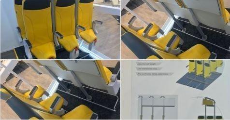 Nga sắp tung ra dịch vụ ghế đứng trên máy bay