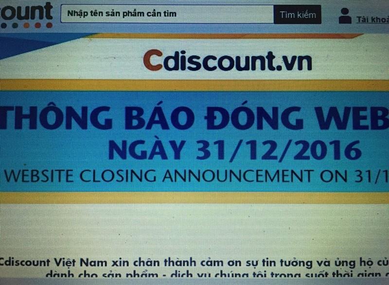 Big C đóng cửa Cdiscount là theo thỏa thuận chuyển nhượng - ảnh 1