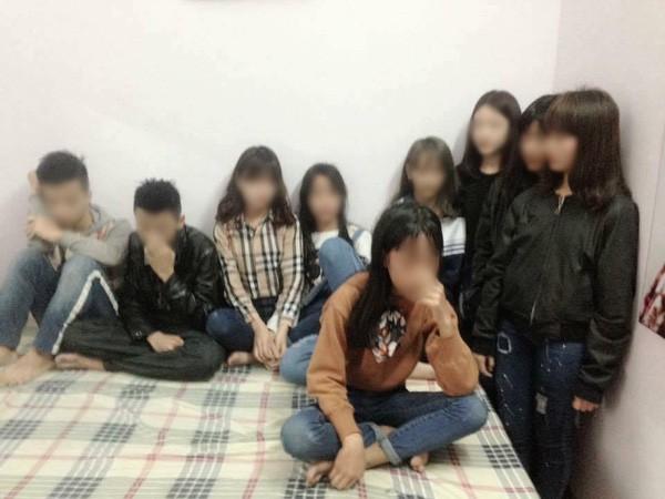 Công an: 'Không có chuyện chín thiếu niên vào nhà nghỉ để thác loạn' - ảnh 1