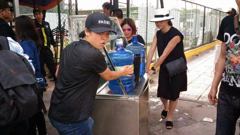 """Hội chợ container """"khủng"""" tại Hà Nội bị giải tán - ảnh 5"""