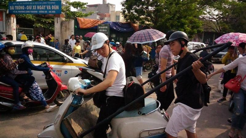 """Hội chợ container """"khủng"""" tại Hà Nội bị giải tán - ảnh 6"""