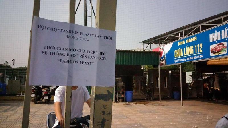 """Hội chợ container """"khủng"""" tại Hà Nội bị giải tán - ảnh 4"""