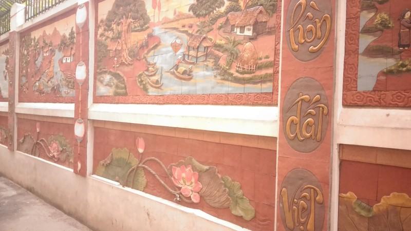 'Con đường gốm sứ' thứ hai tuyệt đẹp tại Hà Nội - ảnh 4