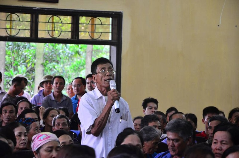 Chủ tịch Nguyễn Đức Chung đối thoại với người dân bãi rác Nam Sơn - ảnh 2