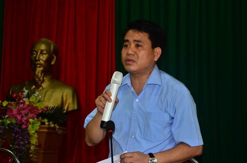 Chủ tịch Nguyễn Đức Chung đối thoại với người dân bãi rác Nam Sơn - ảnh 3