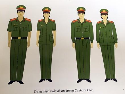 Trang phục mới của lực lượng công an nhân dân có điểm gì khác? - ảnh 6