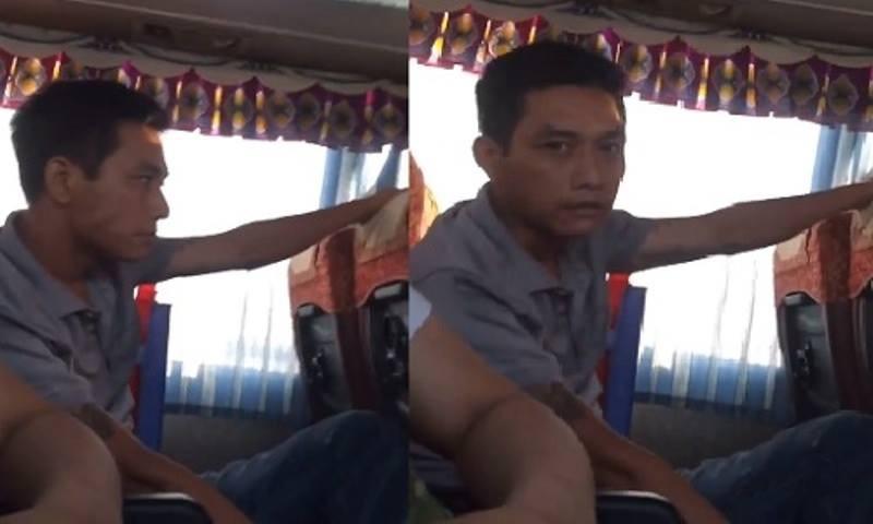Tự nhận bị HIV, cầm kim tiêm dính máu xin 'đểu' trên xe khách - ảnh 1