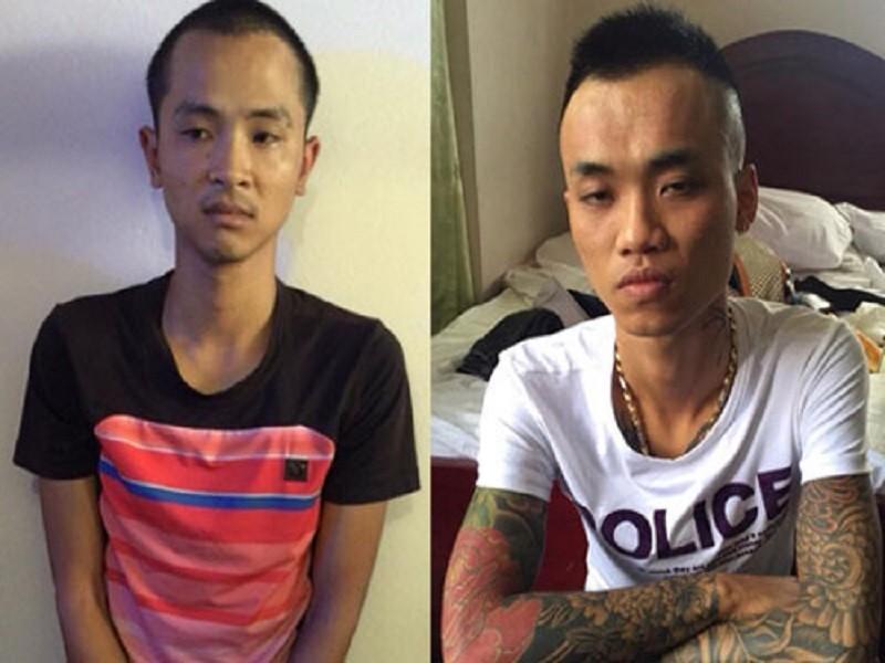 Một số đối tượng tham gia việc bắt giữ doanh nhân Trung Quốc
