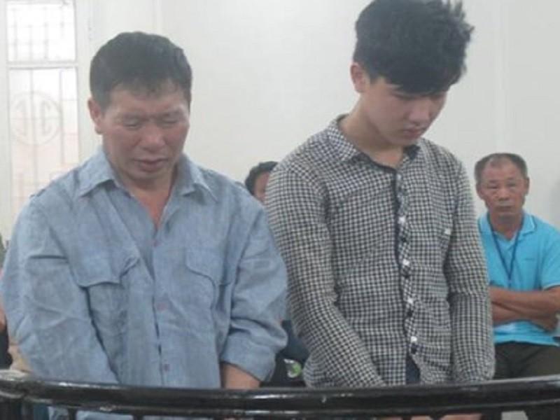 Đánh chết người lái máy xúc, 2 cha con lãnh án tù - ảnh 1
