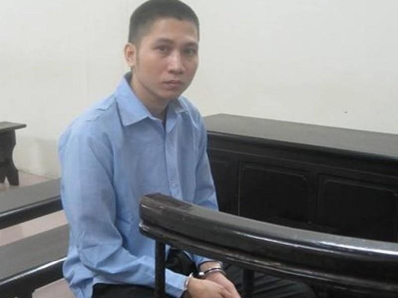 Bị cáo Trần Mạnh Hưng tại tòa